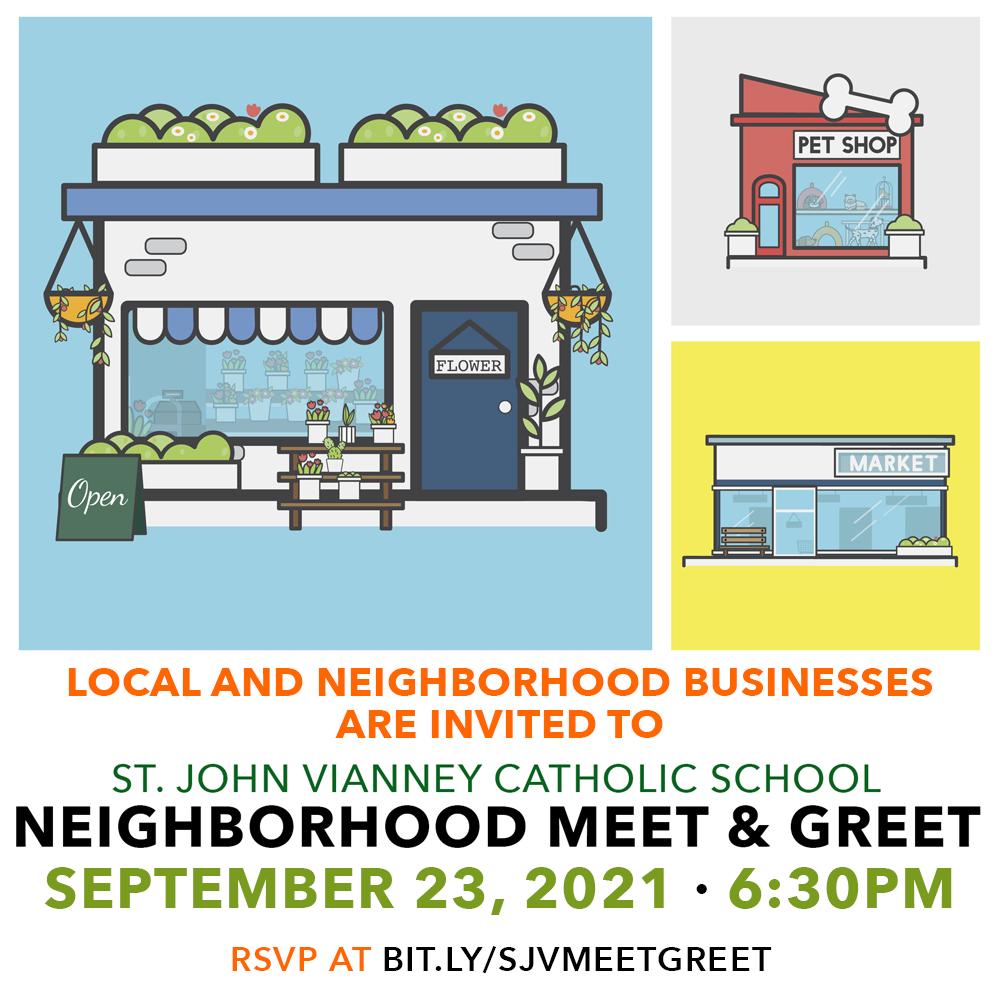 9/23 SJV Neighborhood Meet & Greet